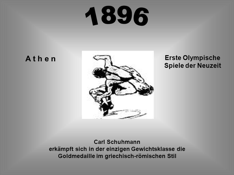 Erste Olympische Spiele der Neuzeit