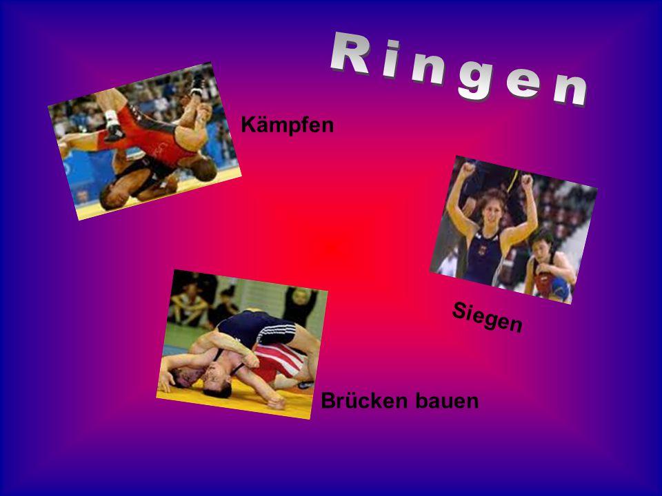 Ringen Kämpfen Siegen Brücken bauen