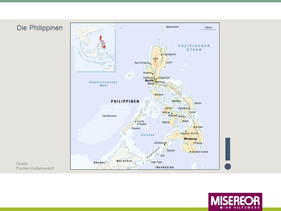 Die Philippinen Quelle: Fischer-Weltalmanach