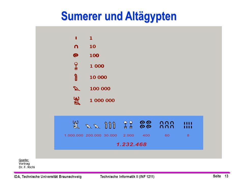 Sumerer und Altägypten
