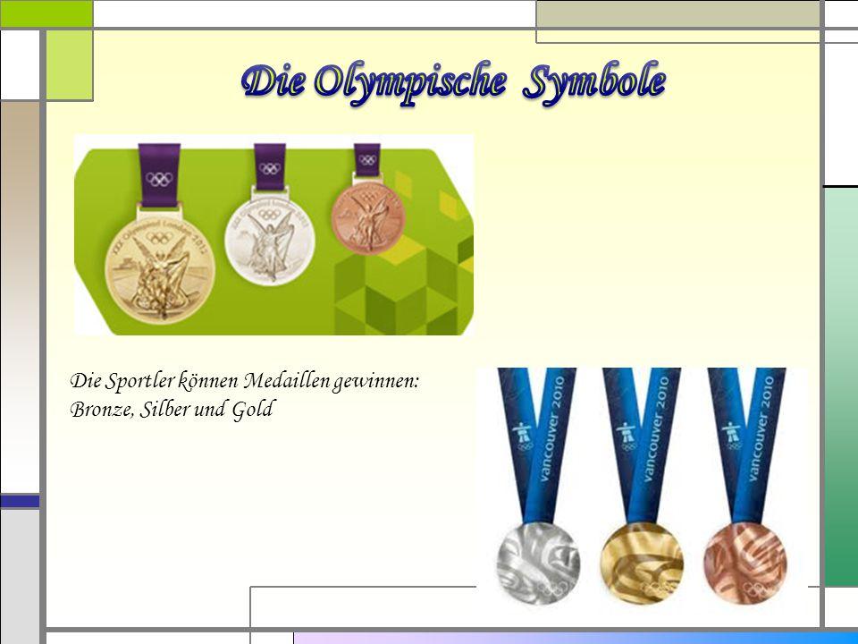 Die Olympische Symbole