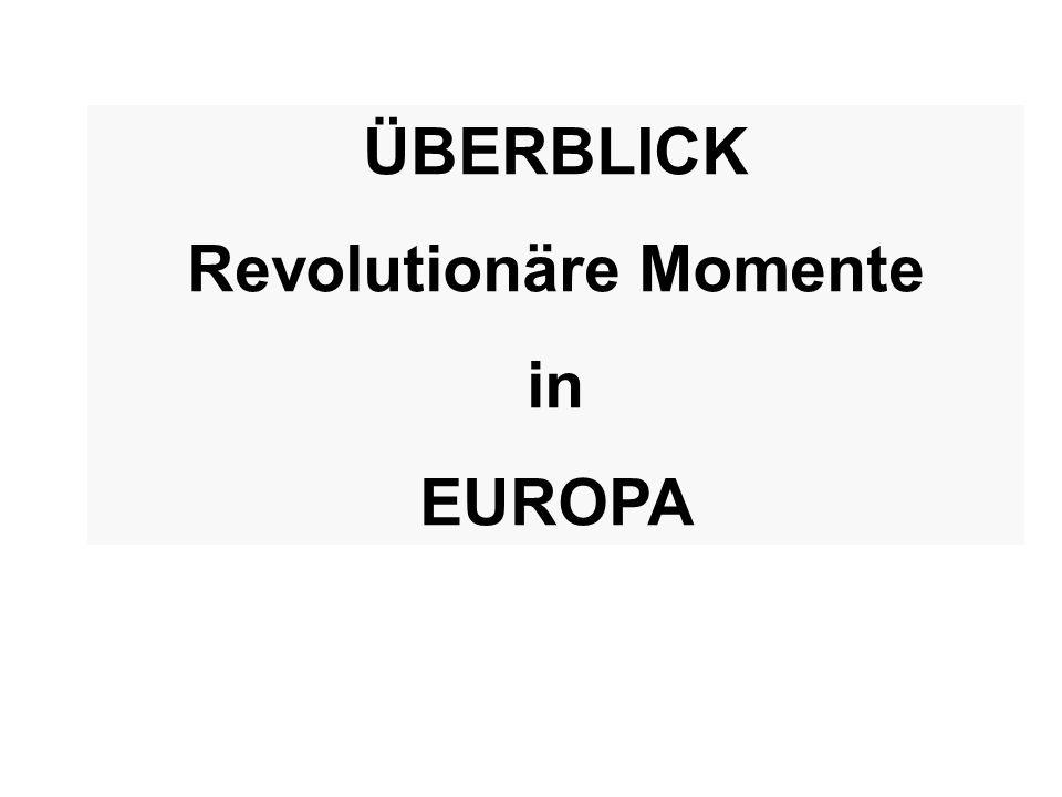 Revolutionäre Momente