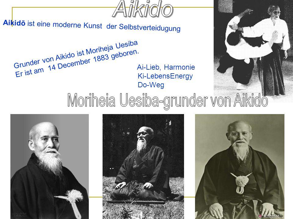 Moriheia Uesiba-grunder von Aikido