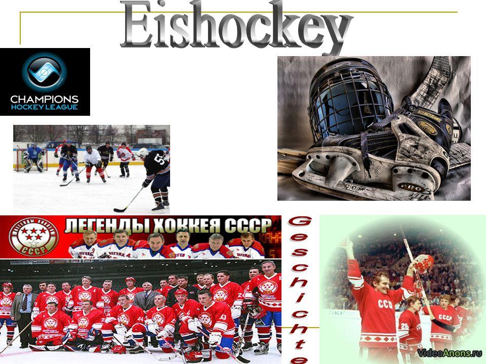 Eishockey Geschichte