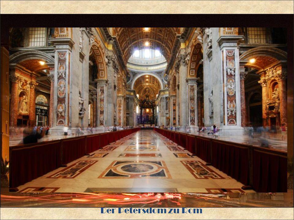 Der Petersdom zu Rom