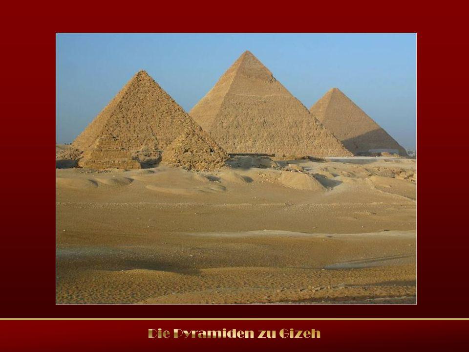Die Pyramiden zu Gizeh