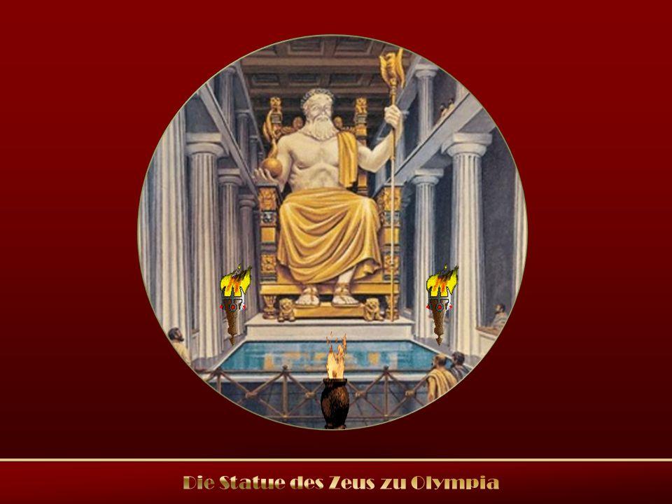 Die Statue des Zeus zu Olympia