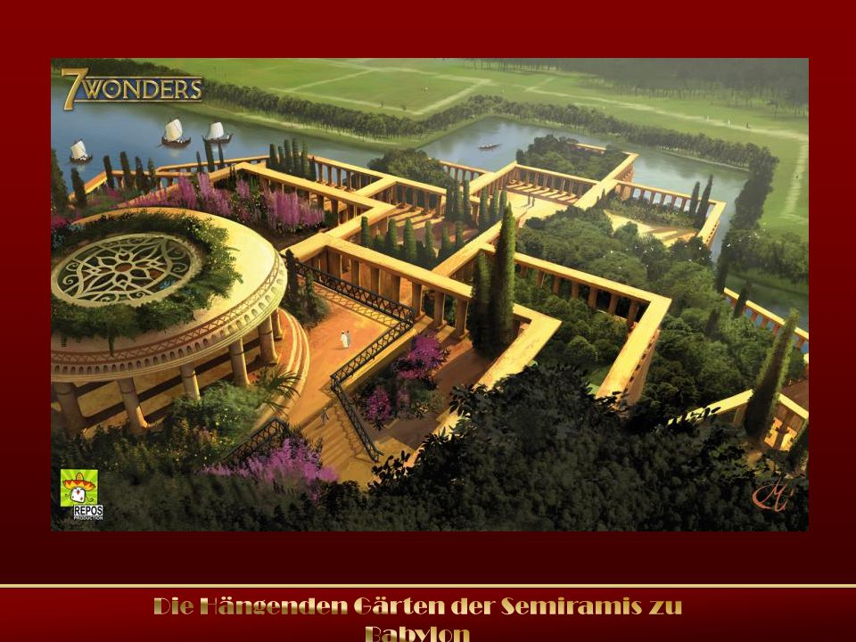 Die hängenden Gärten der Semiramis