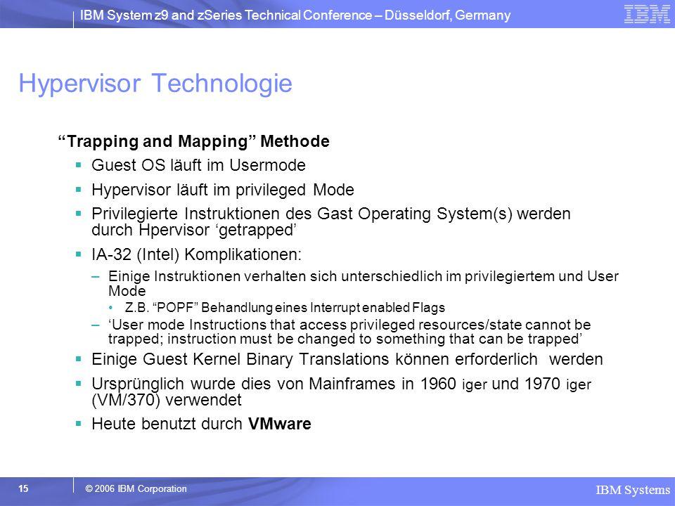 Hypervisor Technologie