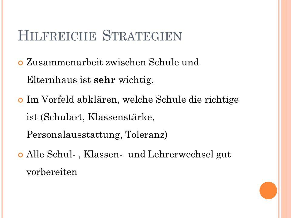 Hilfreiche Strategien