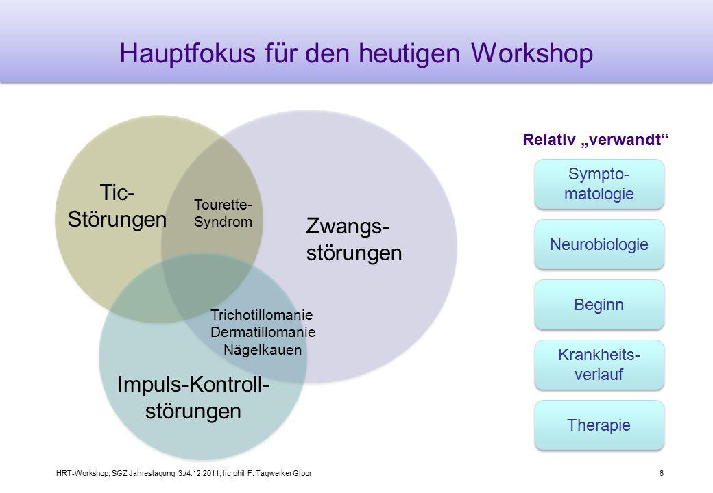 Hauptfokus für den heutigen Workshop