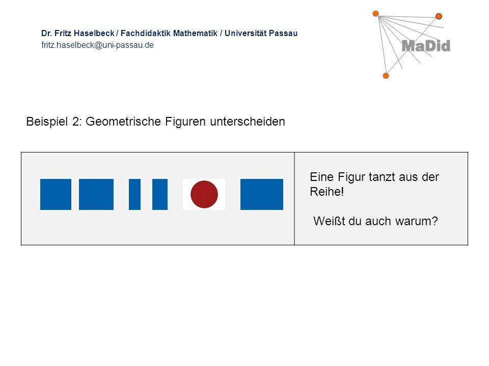 Beispiel 2: Geometrische Figuren unterscheiden