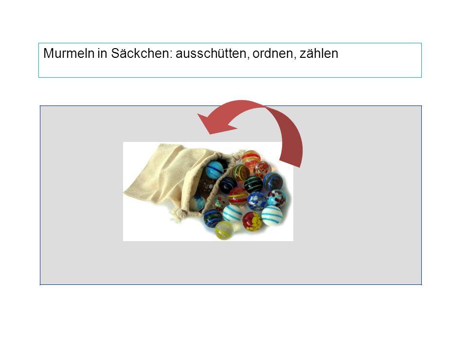 """""""Verpacken von Gegenständen: Zehner-Bündel"""
