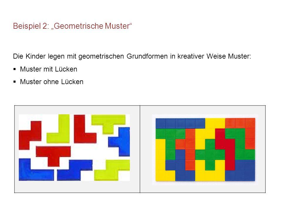 """Beispiel 2: """"Geometrische Muster"""