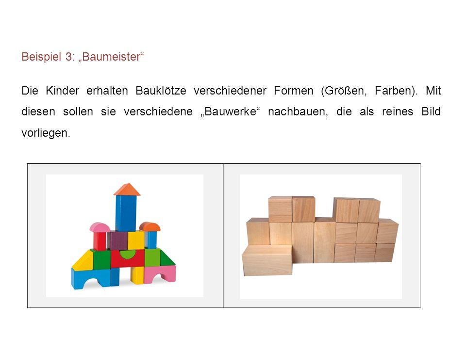 """Beispiel 3: """"Baumeister"""