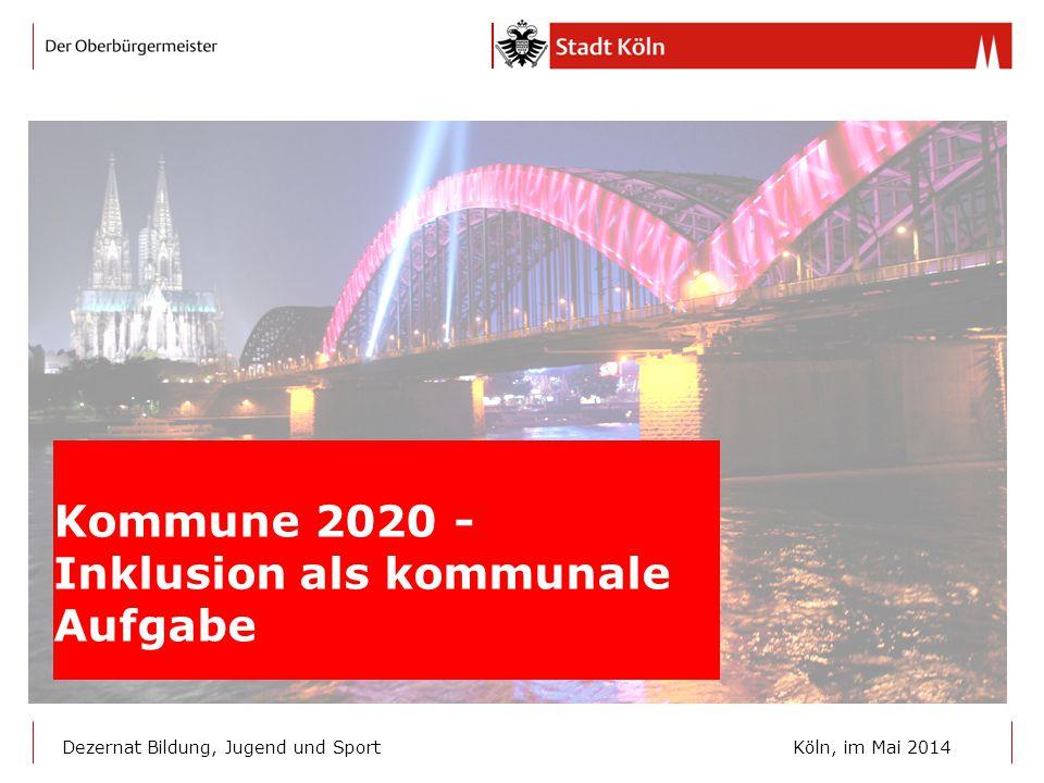Kommune 2020 - Inklusion als kommunale Aufgabe