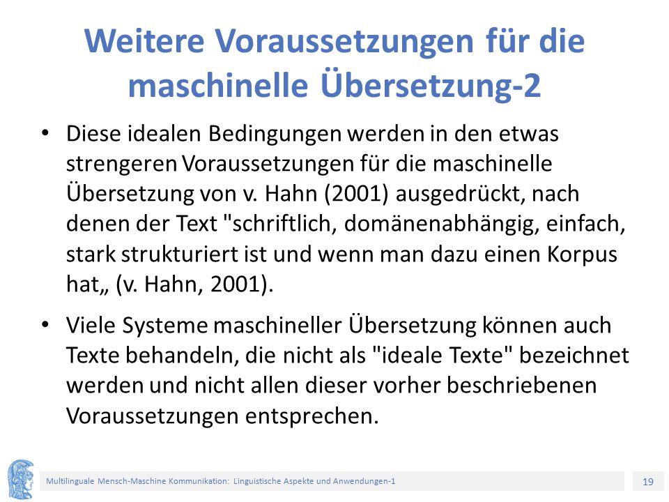 Weitere Voraussetzungen für die maschinelle Übersetzung-2