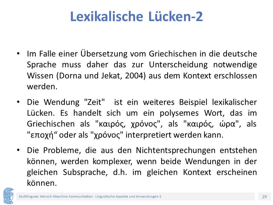 Lexikalische Lücken-2