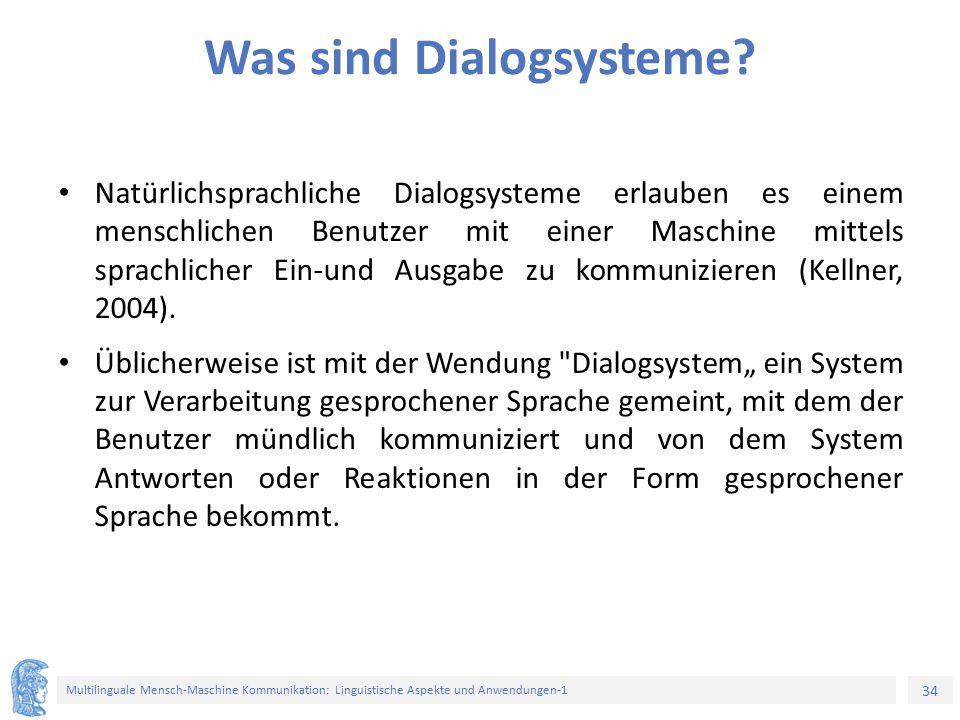 Was sind Dialogsysteme
