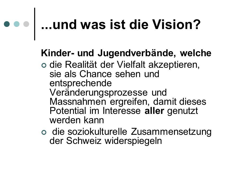...und was ist die Vision Kinder- und Jugendverbände, welche