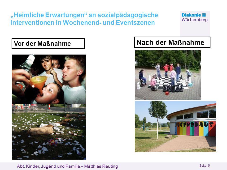 """08.01.2013 02.07.2013. """"Heimliche Erwartungen an sozialpädagogische Interventionen in Wochenend- und Eventszenen."""