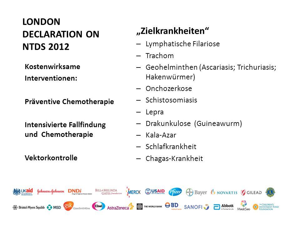 LONDON DECLARATION ON NTDS 2012