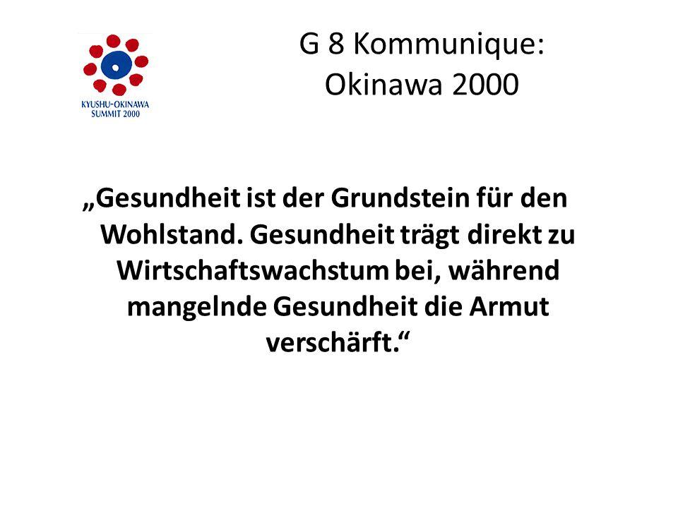 G 8 Kommunique: Okinawa 2000
