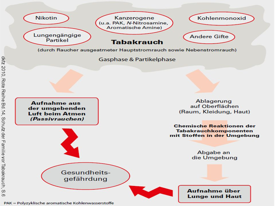 dkfz 2010, Rote Reihe Bd.14, Schutz der Familie vor Tabakrauch, S.6