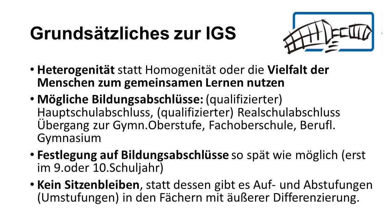 Grundsätzliches zur IGS
