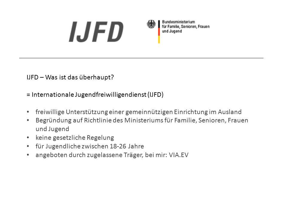 IJFD – Was ist das überhaupt