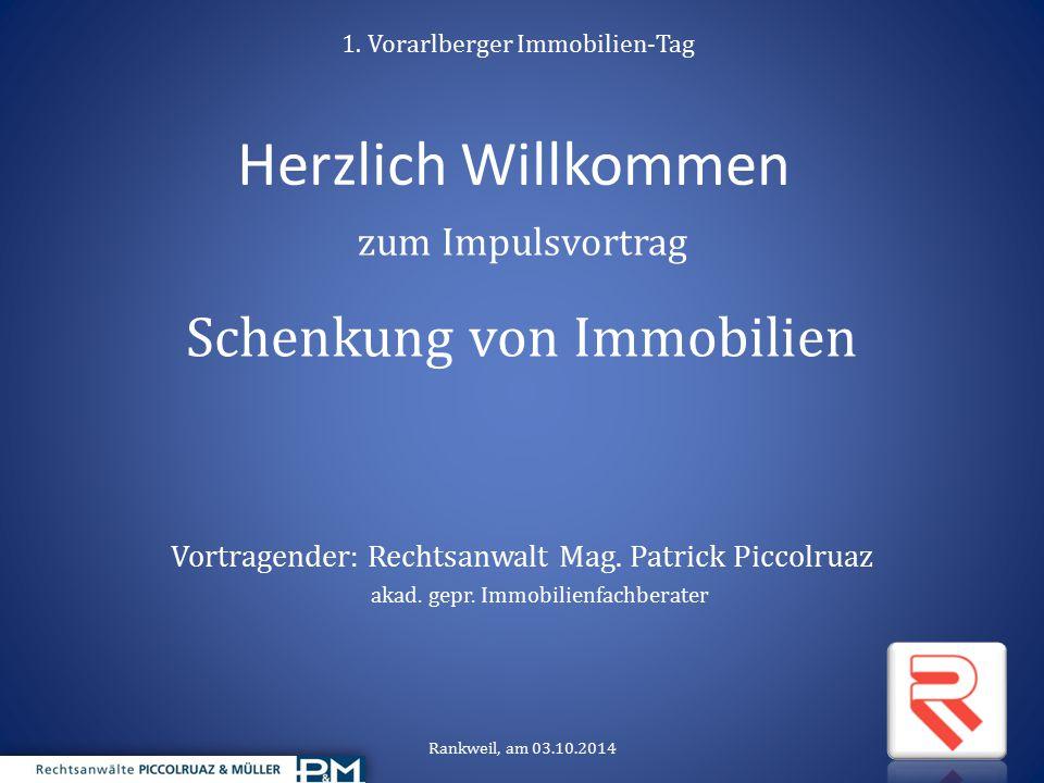 1. Vorarlberger Immobilien-Tag