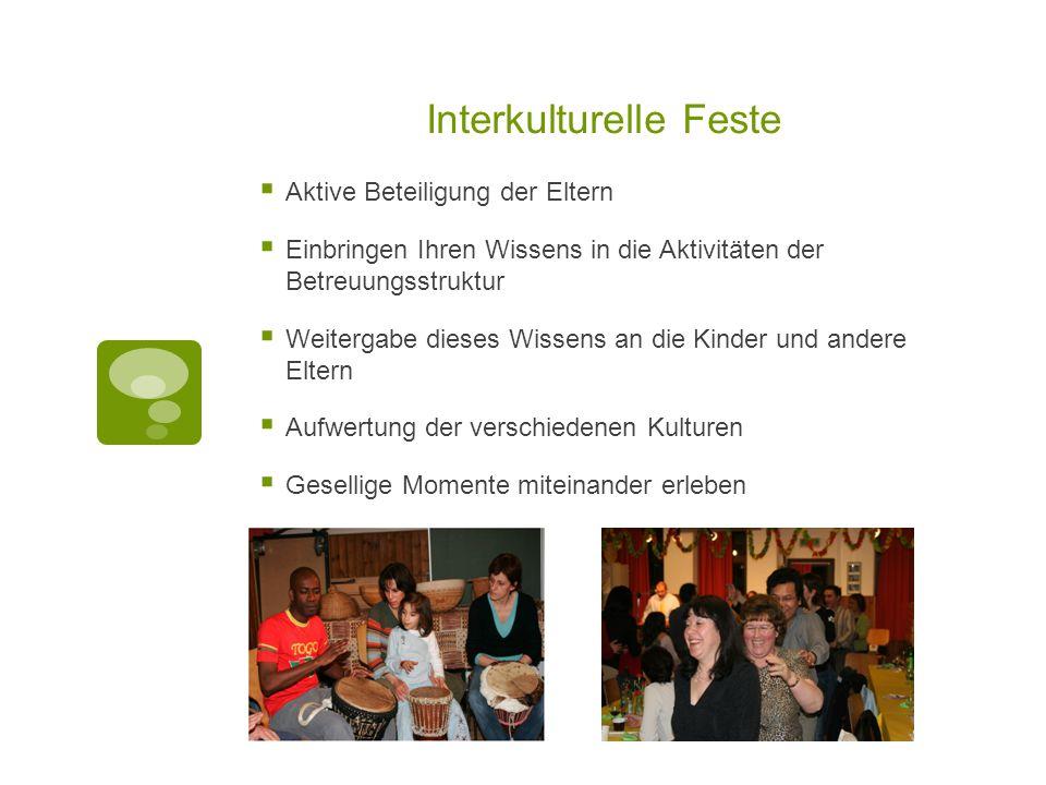Interkulturelle Feste