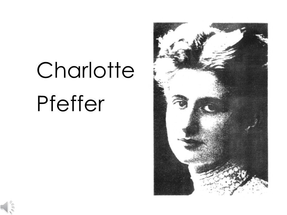 Charlotte Pfeffer