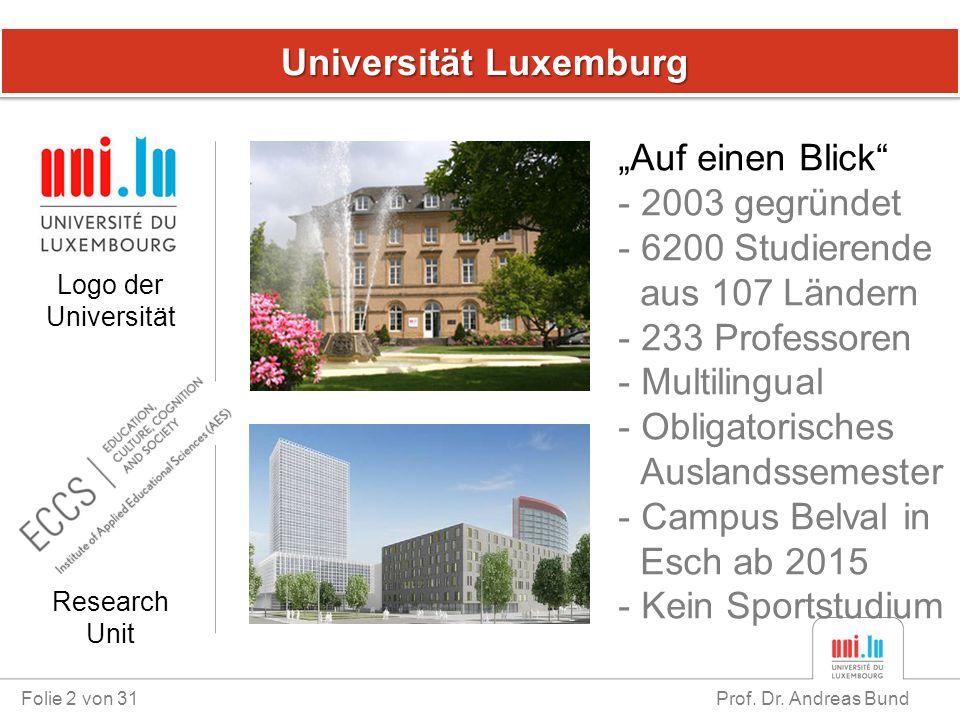 Universität Luxemburg