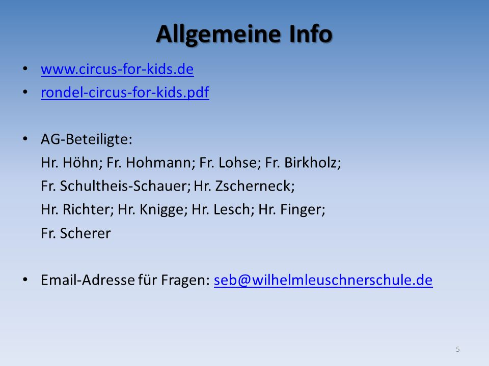 Allgemeine Info www.circus-for-kids.de rondel-circus-for-kids.pdf