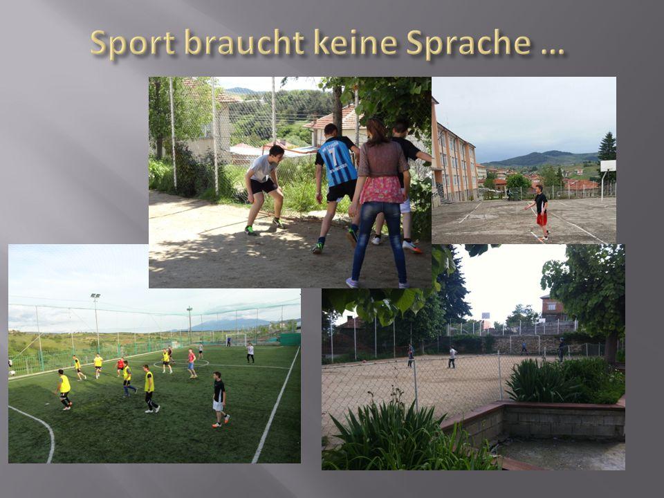 Sport braucht keine Sprache …