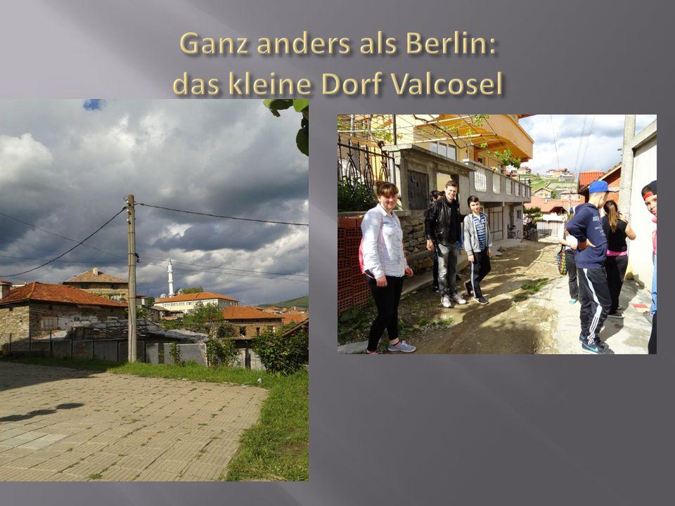 Ganz anders als Berlin: das kleine Dorf Valcosel