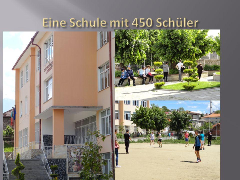 Eine Schule mit 450 Schüler