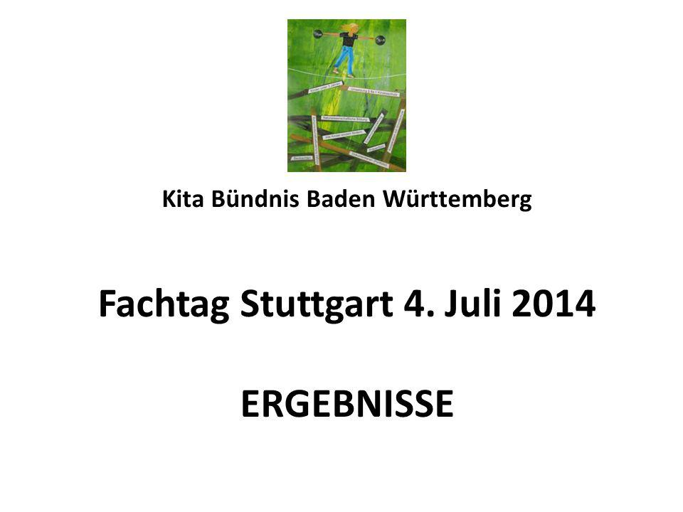 Kita Bündnis Baden Württemberg Fachtag Stuttgart 4