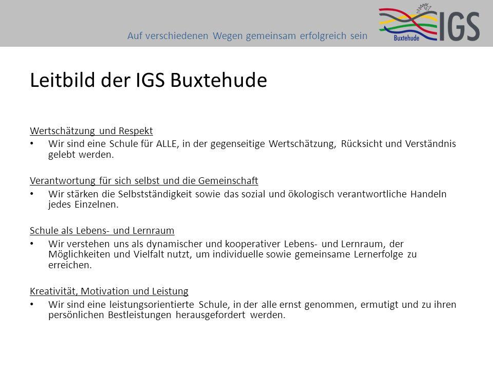Leitbild der IGS Buxtehude