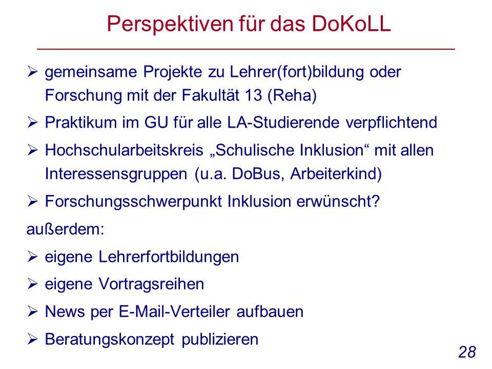 Perspektiven für das DoKoLL