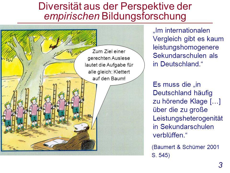Diversität aus der Perspektive der empirischen Bildungsforschung