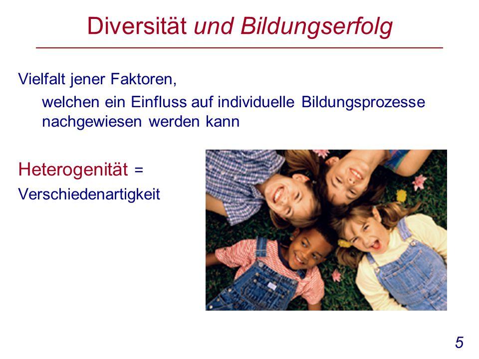 Diversität und Bildungserfolg