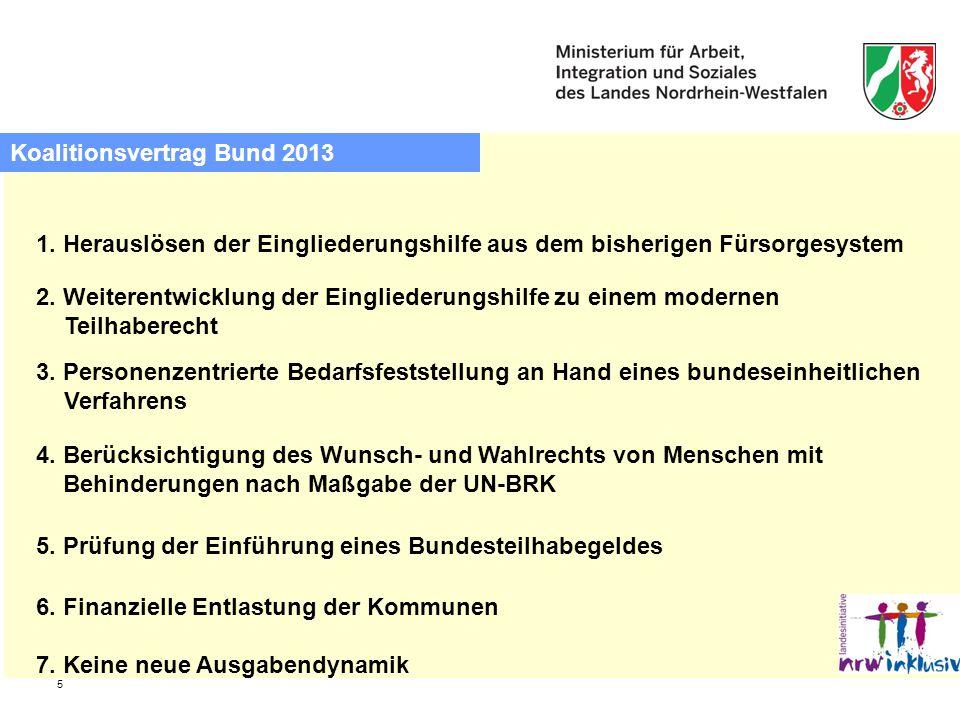 Koalitionsvertrag Bund 2013