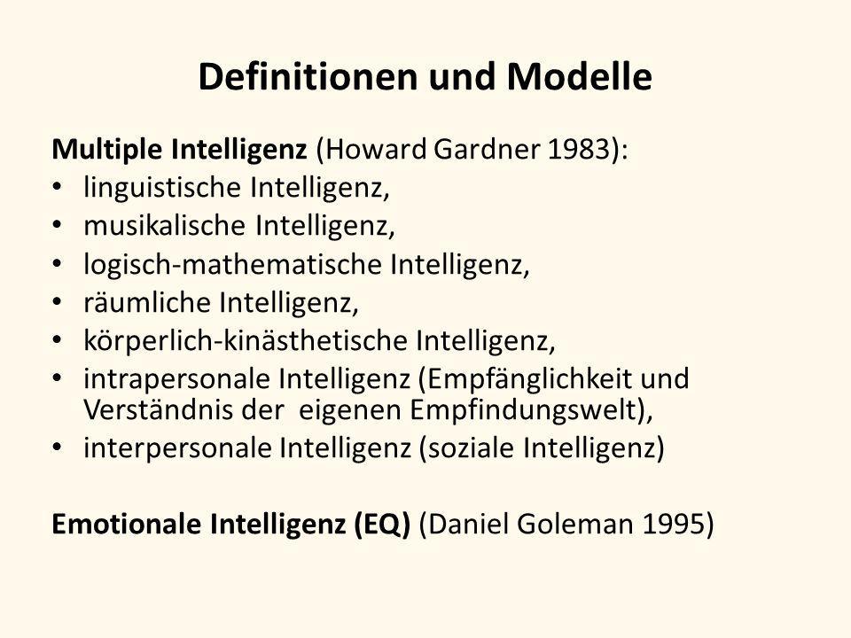 Definitionen und Modelle