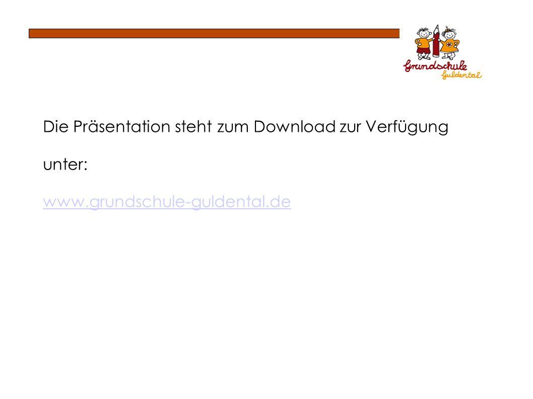 Die Präsentation steht zum Download zur Verfügung
