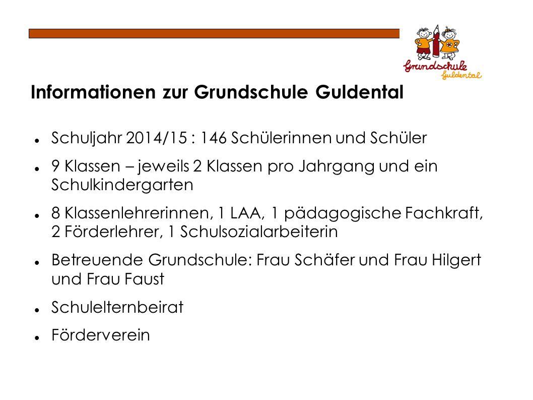 Informationen zur Grundschule Guldental