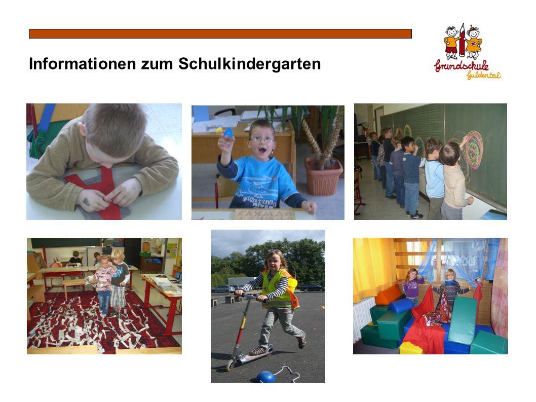 Informationen zum Schulkindergarten