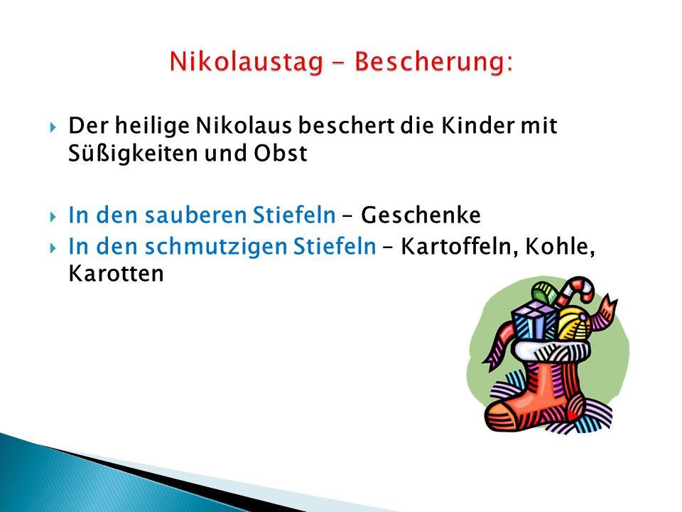 Nikolaustag - Bescherung: