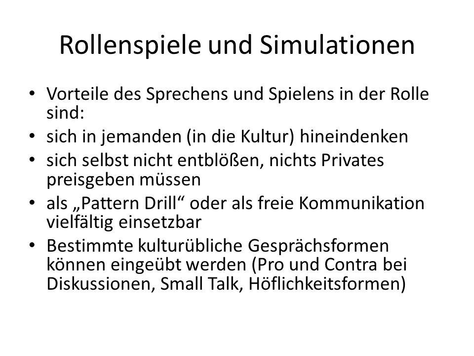 Rollenspiele und Simulationen